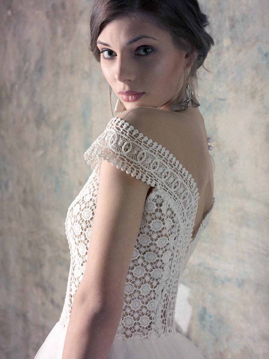 Rochie De Mireasă Prințesă Cu Umerii Căzuți Delikates Couture